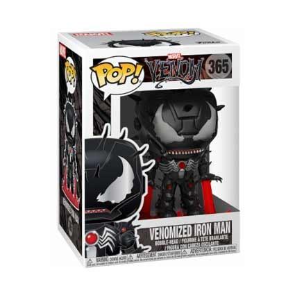Toys Pop Marvel Venom Venomized Iron Man Rare Funko Swizerland Ge