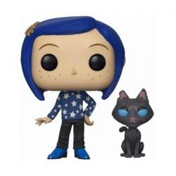 Figurine Pop Coraline with Cat buddy Funko Boutique Geneve Suisse