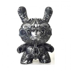 It's a F.A.D. Dunny Silver Color 20 cm by J*RYU