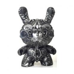 Figurine It's a F.A.D. Dunny Couleur Argent 20 cm par J*RYU Kidrobot Designer Toys Geneve