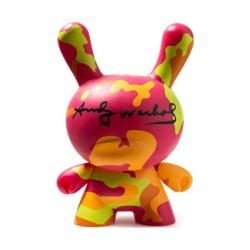 Figurine Dunny 20 cm Andy Warhol Masterpiece Camo par Andy Warhol x Kidrobot Kidrobot Designer Toys Geneve