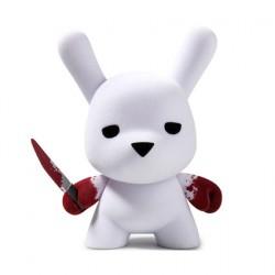 Figurine Dunny Wannabe Floqué 12.5 cm par Luke Chueh Kidrobot Designer Toys Geneve