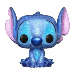 Figurine Pop Disney Stitch Seated Diamond Glitter Edition Limitée Funko Boutique Geneve Suisse