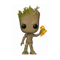 Figurine Pop Marvel Infinity War Groot with Stormbreaker Funko Boutique Geneve Suisse