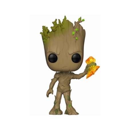 Figur Pop Marvel Infinity War Groot with Stormbreaker Funko Geneva Store Switzerland