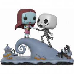 Figur Pop Disney Nightmare Before Christmas Jack and Sally on the Hill Movie Moment Funko Geneva Store Switzerland