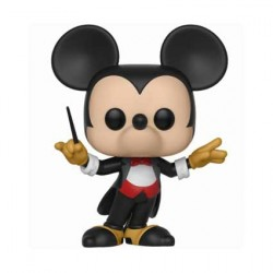 Figurine Pop Disney Mickey's 90th Conductor Mickey Funko Boutique Geneve Suisse
