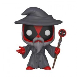 Figurine Pop Marvel Deadpool Playtime Wizard Edition Limitée Funko Boutique Geneve Suisse