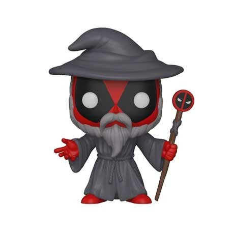 Figurine Pop Deadpool Playtime Wizard Edition Limitée Funko Boutique Geneve Suisse
