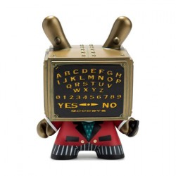 Figuren Dunny Talking Board 12.5 cm von Doktor A Kidrobot Designer Toys Genf
