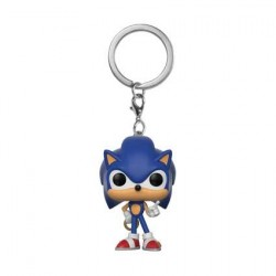 Figurine Pocket Pop Porte clés Sonic with Ring Funko Figurines Pop! Geneve