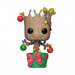 Figuren Pop Marvel Holiday Groot with Lights and Ornaments Funko Genf Shop Schweiz