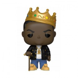 Figurine Pop Music Notorious B.I.G. with Crown Funko Boutique Geneve Suisse