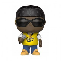 Figurine Pop Music Notorious B.I.G. in jersey Funko Boutique Geneve Suisse
