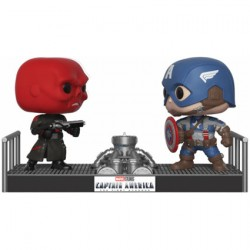 Figuren Pop Moments Marvel Captain America vs. Red Skull Funko Vorbestellung Genf