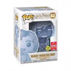 Figuren Pop SDCC 2018 Harry Potter Nearly Headless Nick Phosphoreszirend Limitierte Auflage Funko Genf Shop Schweiz