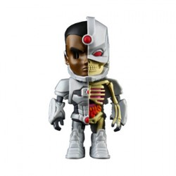 Figurine DC Comics Cyborg X-Ray par Jason Freeny Mighty Jaxx Boutique Geneve Suisse