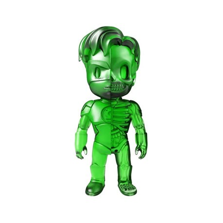 Figurine DC Comics Green Lantern Clear Green X-Ray par Jason Freeny Mighty Jaxx Boutique Geneve Suisse