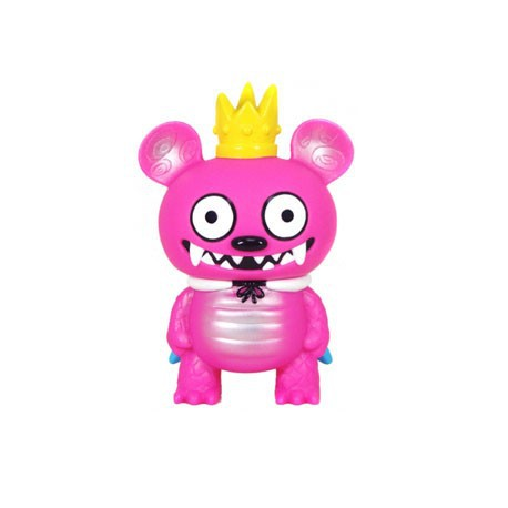 Figurine Monster Bossy Bear Rose par David Horvath Toy2R Boutique Geneve Suisse