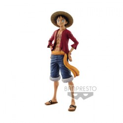 Figurine One Piece The Grandline Men Monkey D. Luffy 27 cm Banpresto Boutique Geneve Suisse