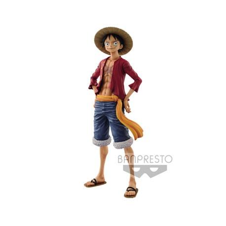 Figur One Piece The Grandline Men Monkey D. Luffy 27 cm Banpresto Geneva Store Switzerland