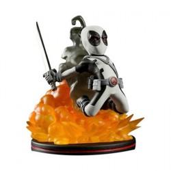 Figur Marvel Deadpool X-Force Q-Fig Variant Exclusive Quantum Mechanix Geneva Store Switzerland