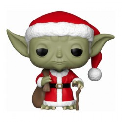 Figur Pop Star Wars Holiday Santa Yoda Funko Geneva Store Switzerland