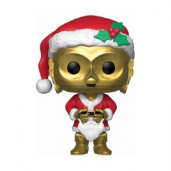 Figurine Pop Star Wars Holiday C-3PO as Santa Funko Boutique Geneve Suisse
