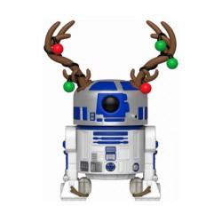 Figur Pop Star Wars Holiday R2-D2 with Antlers Funko Geneva Store Switzerland