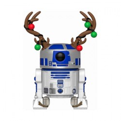 Figurine Pop Star Wars Holiday R2-D2 with Antlers Funko Boutique Geneve Suisse
