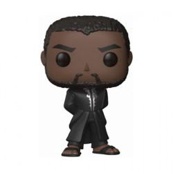 Figuren Pop Marvel Black Panther T'Challa Robe Black Funko Genf Shop Schweiz