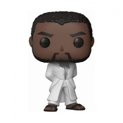 Figurine Pop Marvel Black Panther T'Challa Robe White Funko Précommande Geneve