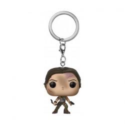 Figurine Pop Pocket Porte-clés Tomb Raider Lara Croft Funko Boutique Geneve Suisse