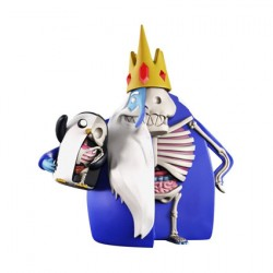 Figurine XXRAY Plus Adventure Time Ice King et Gunter par Jason Freeny Mighty Jaxx Boutique Geneve Suisse
