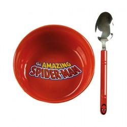 Figuren Marvel Spider-Man Frühstückt Set Paladone Genf Shop Schweiz