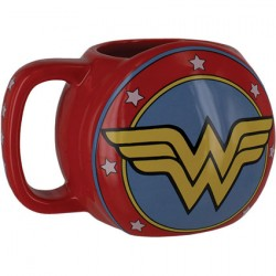 Figur DC Comics Wonder Woman Shield Mug Paladone Geneva Store Switzerland
