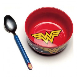 Figurine DC Comics Wonder Woman Breakfast Set Paladone Boutique Geneve Suisse