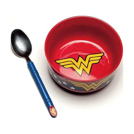 Figurine DC Comics Wonder Woman Breakfast Set Paladone Boutique Geneve Suisse