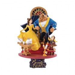 Figur Disney Select Beauty and the Beast Diorama Beast Kingdom Geneva Store Switzerland