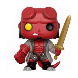 Figurine Pop Hellboy with Sword Edition Limitée Funko Boutique Geneve Suisse