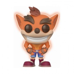 Pop Crash Bandicoot Glow in the Dark Limited Edition