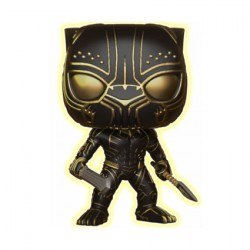Figurine Pop Black Panther Killmonger Phosphorescent Edition Limitée Funko Boutique Geneve Suisse