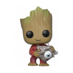 Figur Pop Marvel Groot with Cyber Eye Limited Edition Funko Geneva Store Switzerland