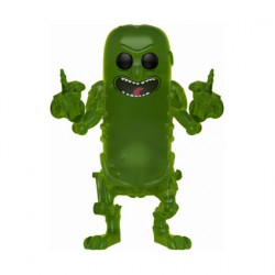 Figurine Pop Rick et Morty Pickle Rick Translucent Edition Limitée Funko Boutique Geneve Suisse