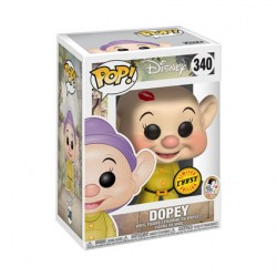 Figurine Pop Disney Snow White Dopey Edition Limitée Chase Funko Boutique Geneve Suisse