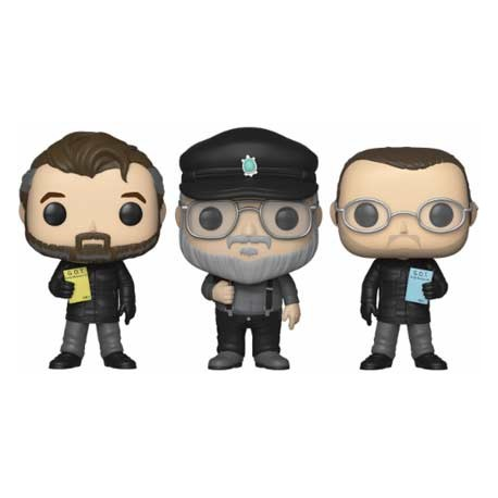 Figurine Pop NYCC 2018 Game of Thrones 3-Pack Show Creators Edition Limitée Funko Boutique Geneve Suisse