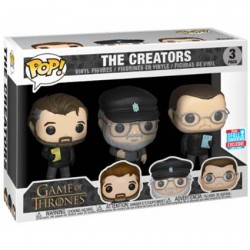 Figuren Pop NYCC 2018 Game of Thrones 3-Pack Show Creators Limitierte Auflage Funko Genf Shop Schweiz
