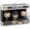 Pop NYCC 2018 Game of Thrones 3-Pack Show Creators Limited Edition