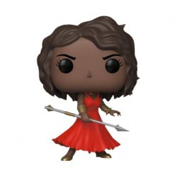 Figurine Pop NYCC 2018 Marvel Black Panther Okoye in Red Dress Edition Limitée Funko Boutique Geneve Suisse