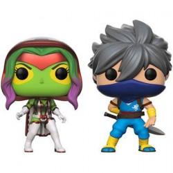 Figuren Pop Marvel Gamora vs Capcom Strider 2-Pack Limitierte Auflage Funko Genf Shop Schweiz